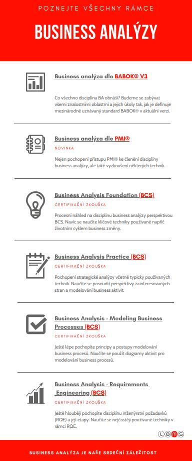 business analýza členění pmi bcs babok